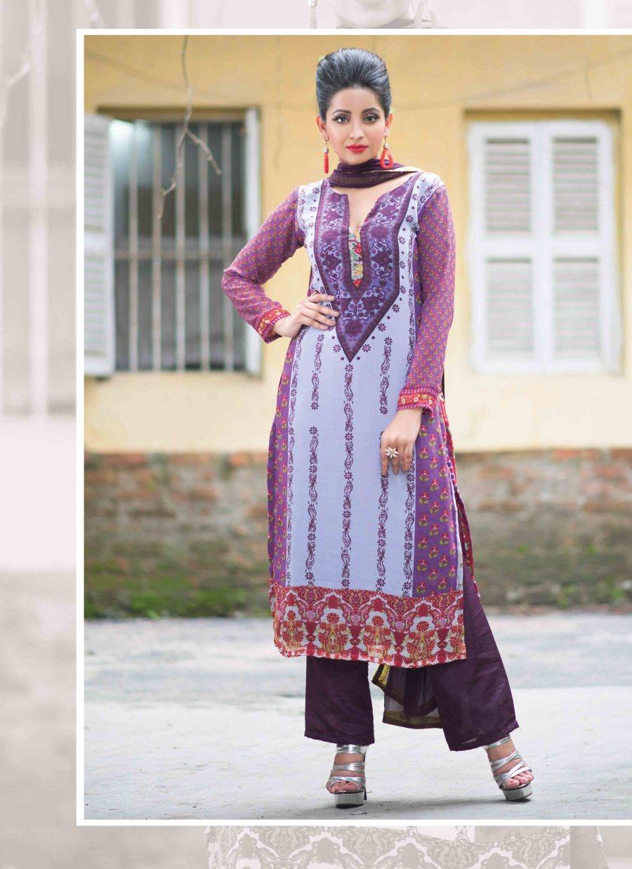 Faux Georgette Salwar Kameez Tamanna DMCB3036 Ramdan Special