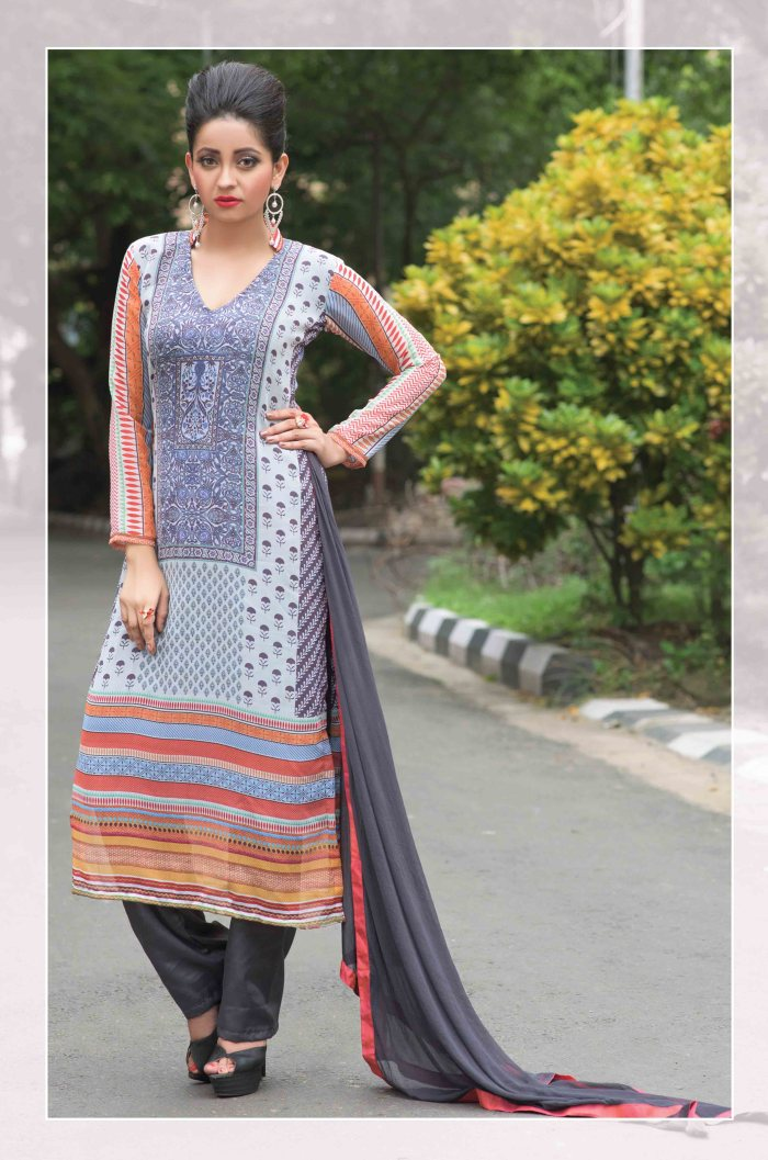 Faux Georgette Salwar Kameez Tamanna DMCB3037 Ramdan Special