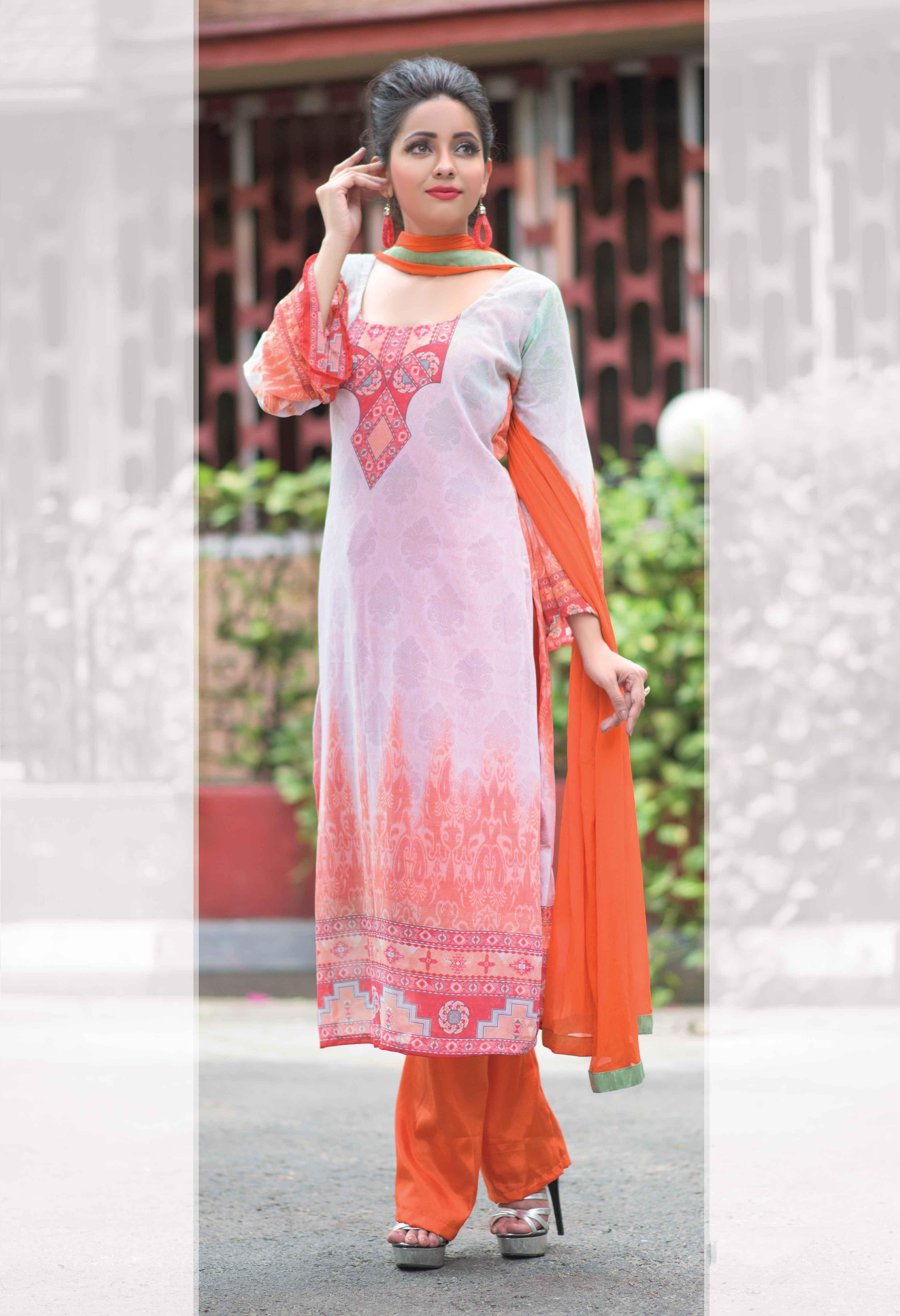 Faux Georgette Salwar Kameez Tamanna DMCB3038 Ramdan Special