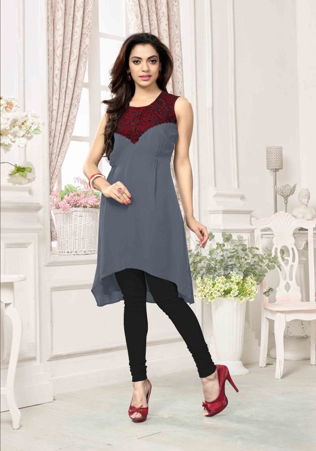 Georgette Readymade Kurti Ragini CB040 | Ladies Wear
