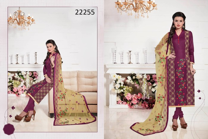 Glace Cotton Dress Material Talisa 22255 Ramdan Special