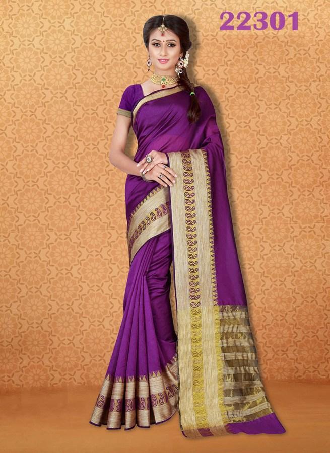 Kanjivaram Sarees Chennai Express v7 22301 | Bride Special