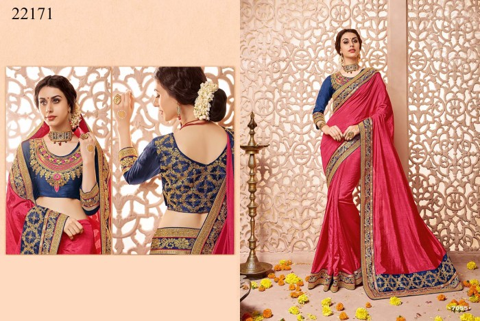 Newly Wedded Bridal Saree Dania 22171 | Bride Special