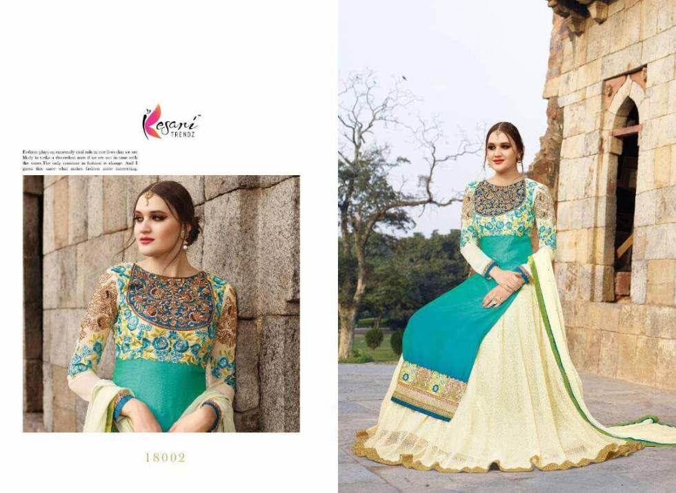 Aariya Floor Length Anarkali SuitsAariya Floor Length Anarkali Suits 18002 A
