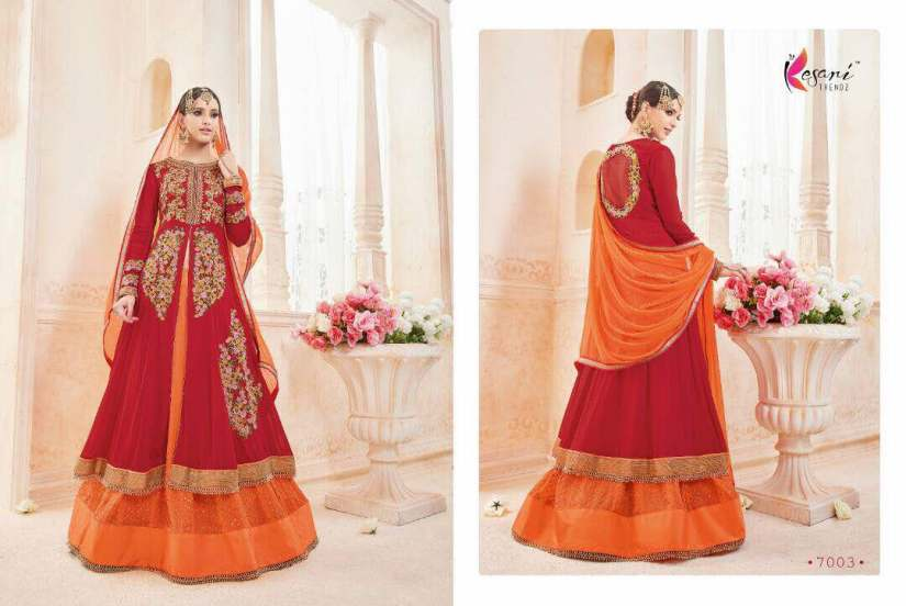 Kyra Floor Length Anarkali Suits 7003 A