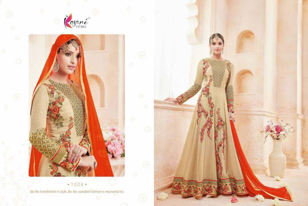 Kyra Floor Length Anarkali Suits 7004 A