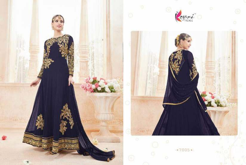 Kyra Floor Length Anarkali Suits 7005 B