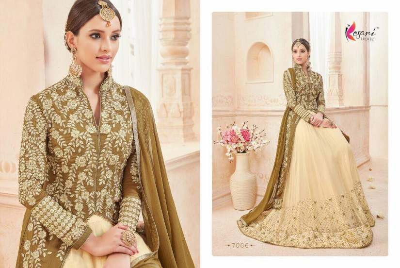 Kyra Floor Length Anarkali Suits 7006 A