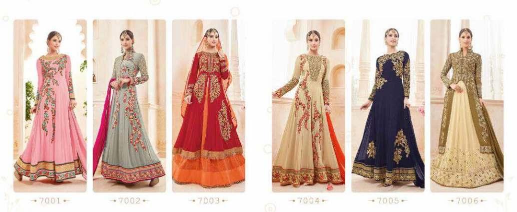 Kyra Floor Length Anarkali Suits