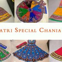 Shop Kutchi Traditional Gamthi work Chaniya Choli for Navratri