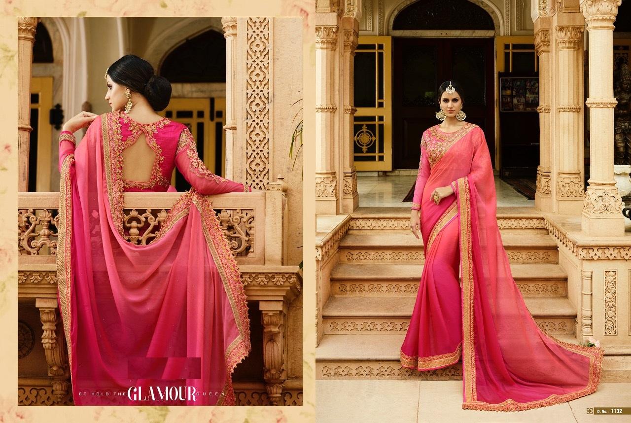 Royal Designer Sarees Code Sakshi 1132