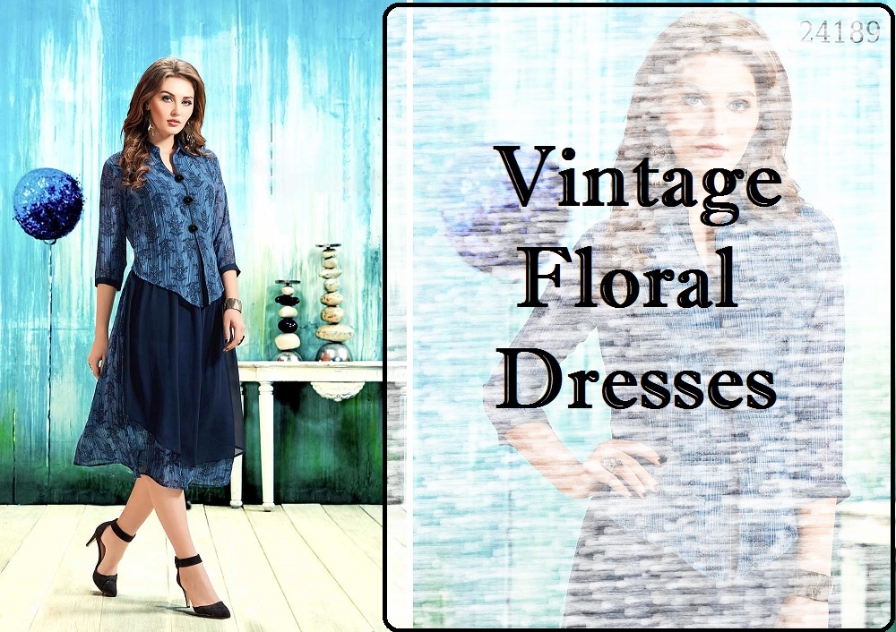 Vintage Floral Western Wear for Women