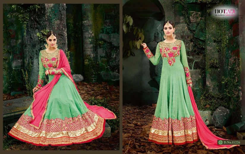 Hotlady Maheera Anarkali suits 11226