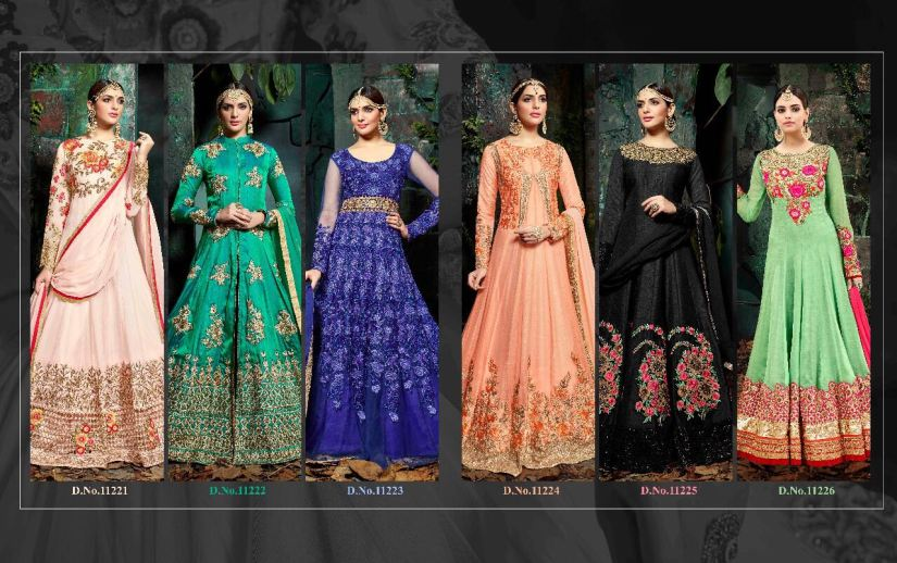 Shop Hotlady Maheera Anarkali Suits