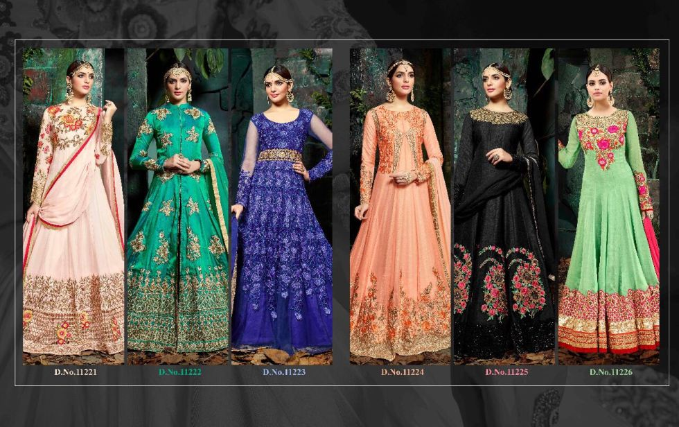 Shop Hotlady Maheera Anarkali Suits