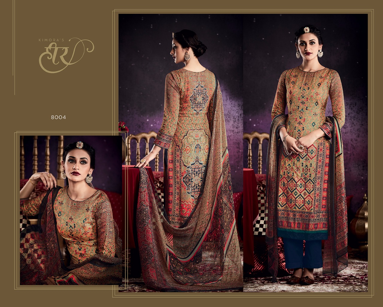 Kimora Dress Material Heer Series 13