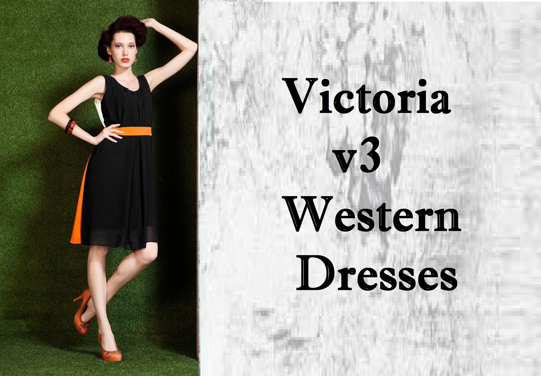 Victoria V3 Western Dresses