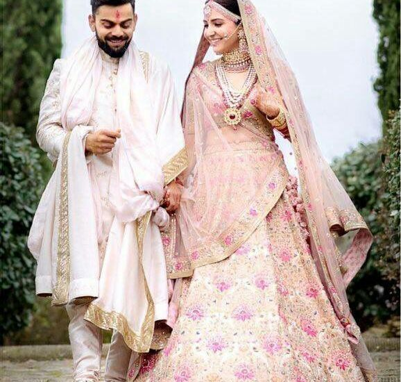 Anushka Sharma Wedding Lehenga Replica B