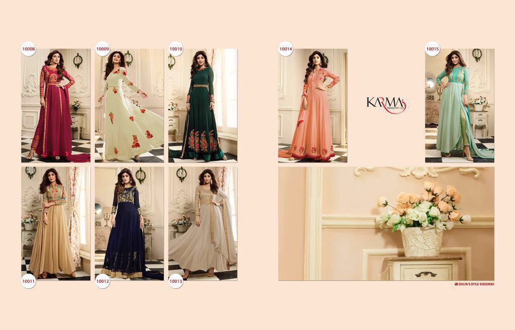 Shop Karma Shilpa Shetty Kali Indo Western Dresses for Ladies Online