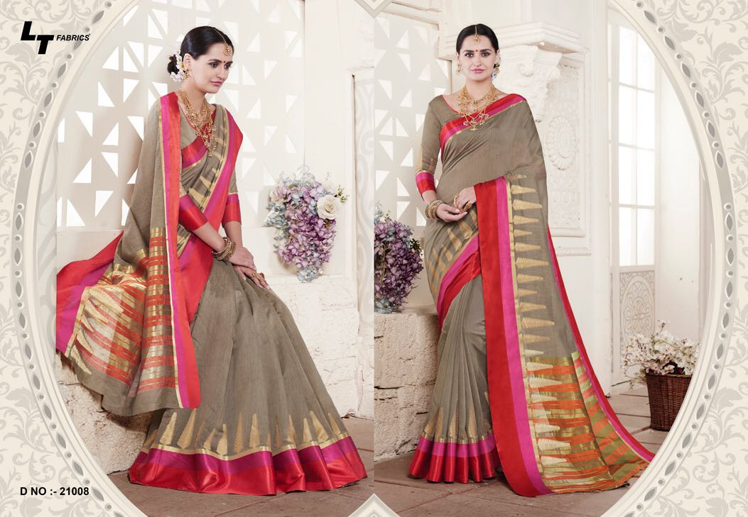 LT Fabric Handloom Silk Sarees