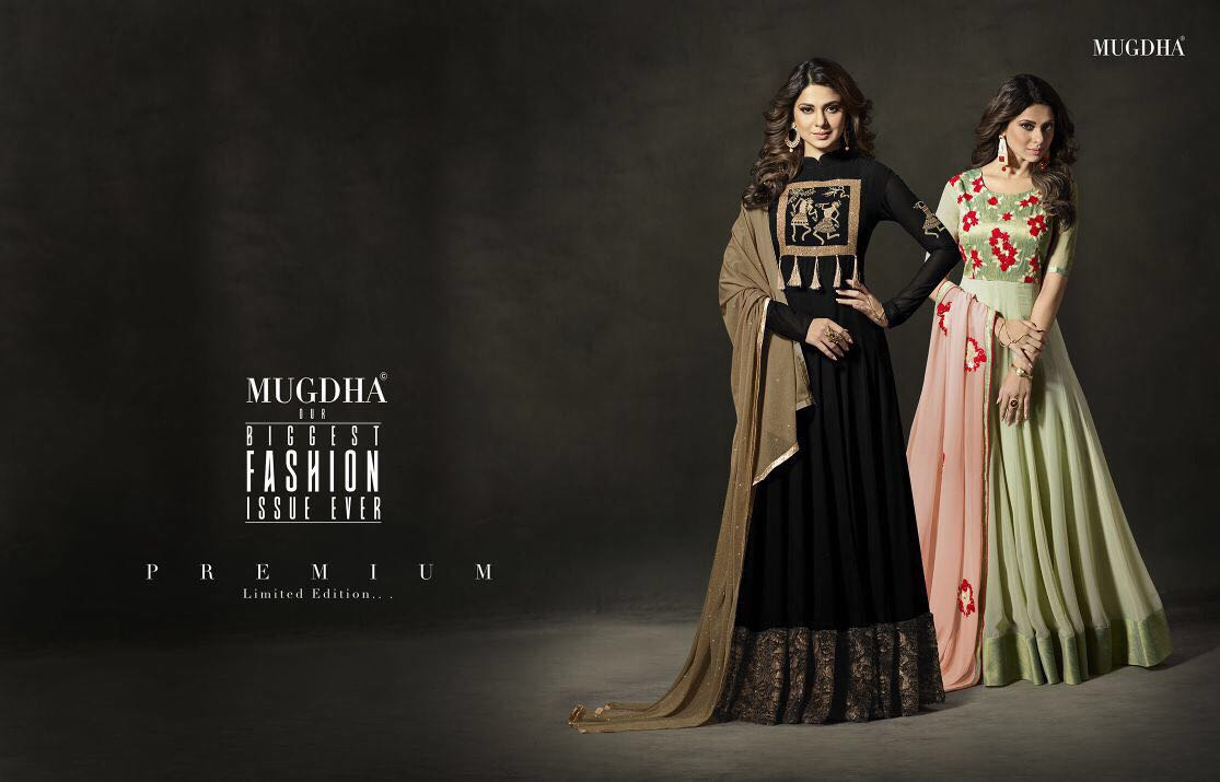 Shop Mugdha Premium DK Label Designer Anarkali Suits Online