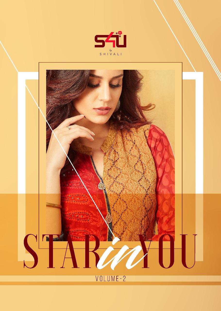 S4U by Shivali indo western kurti