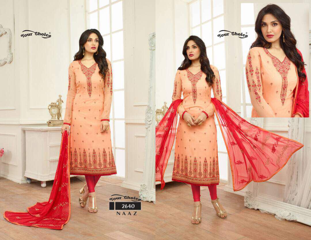 Your Choice Naaz Churidar Suits Online