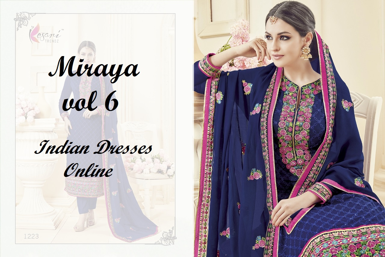 Miraya vol 6 Casual Straight Fit Indian Dresses Online