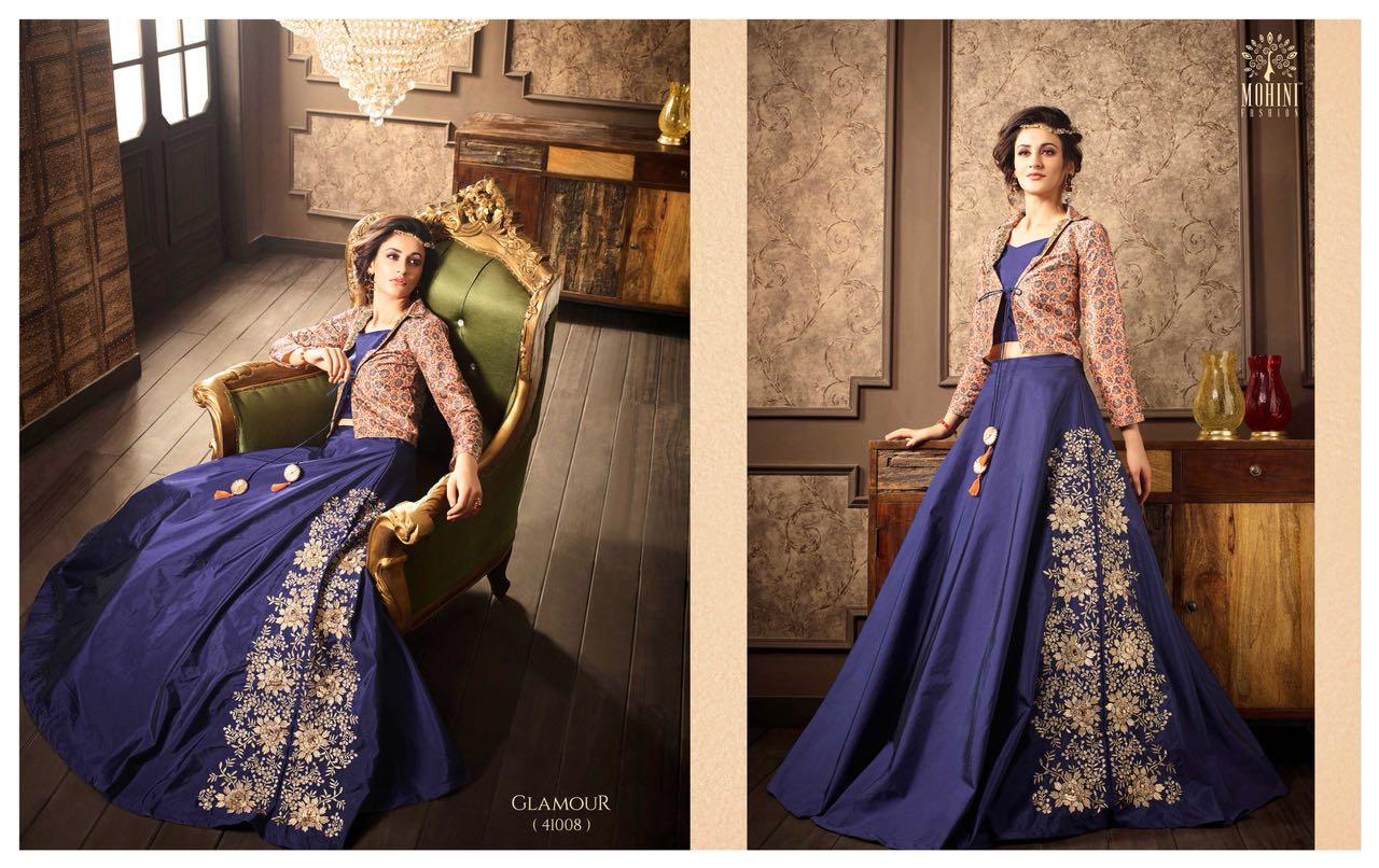 Mohini Fashions Glamour 41 Indo Western Dresses