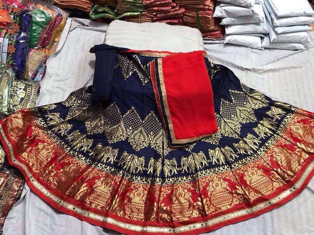 b3a8fbf9bb2caa Shop Original Mirror Work Lehenga Choli Online
