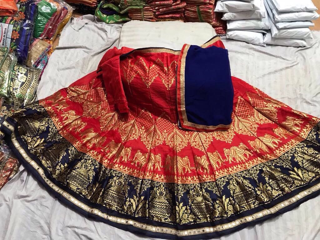 Original mirror work lehenga