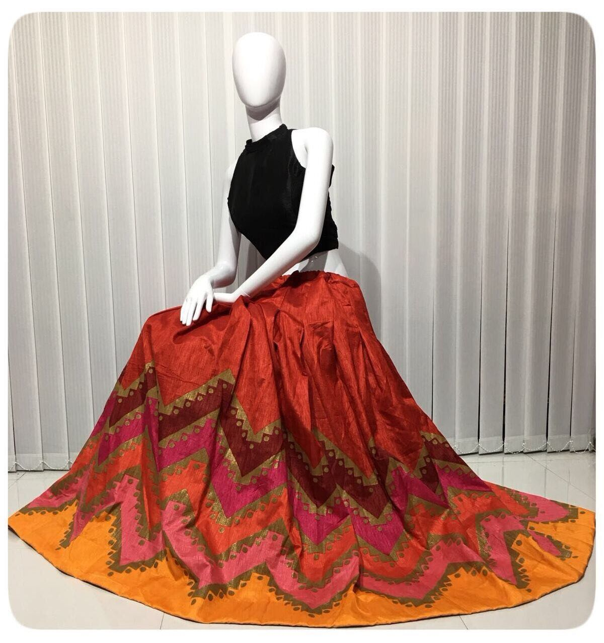Readymade Lehenga Blouse Crop Top Styled Collection