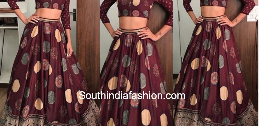 Shilpa Shetty Lehenga Blouse BT-169 Replica