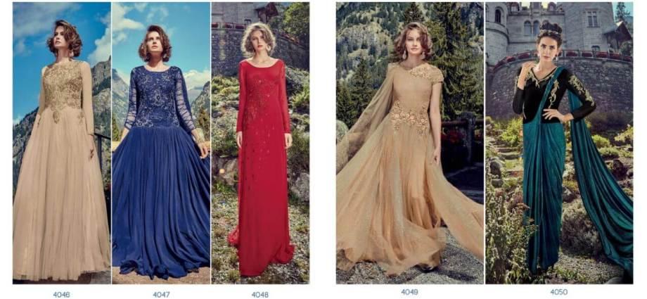 Shop Jinaam RAZAH IMPRESSA Reception Gowns Online