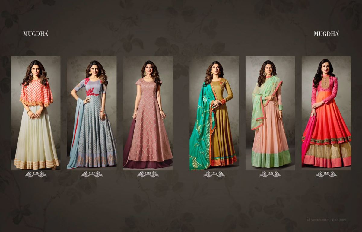 Shop Mugdha Floor Length Designer Anarkali Suits Collection Online