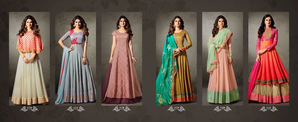Mugdha Floor Length Designer Anarkali Suits Collection Online