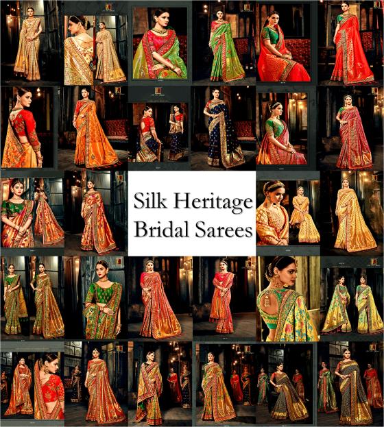 Silk Heritage Bridal Sarees
