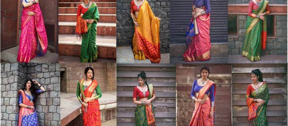 Lotus Vol 8 Patola Silk Sarees