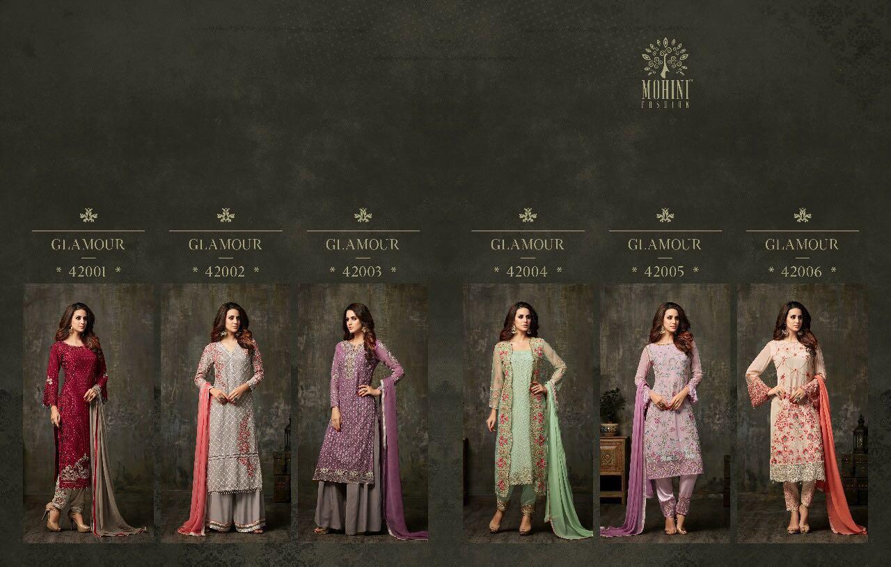 Mohini Fashions Glamour 42 Designer Salwar Kameez