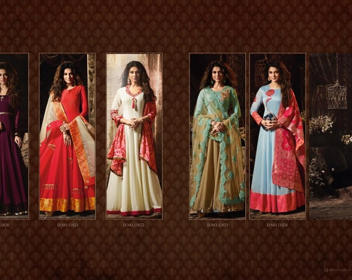 Mugdha Premium 2 Anarkali Floor Length Salwar Suits