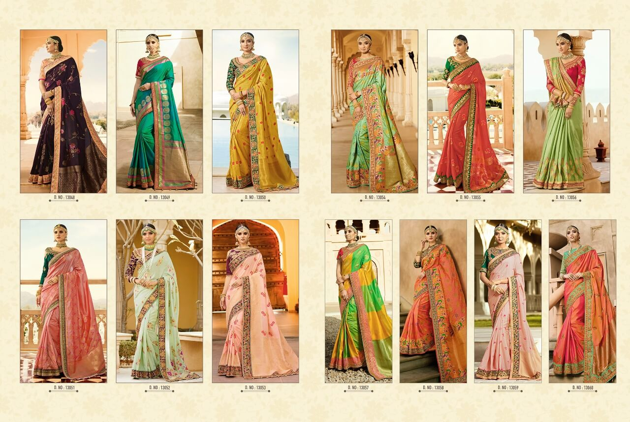 Shop Indian Royal Sarees Virasat v9 Online