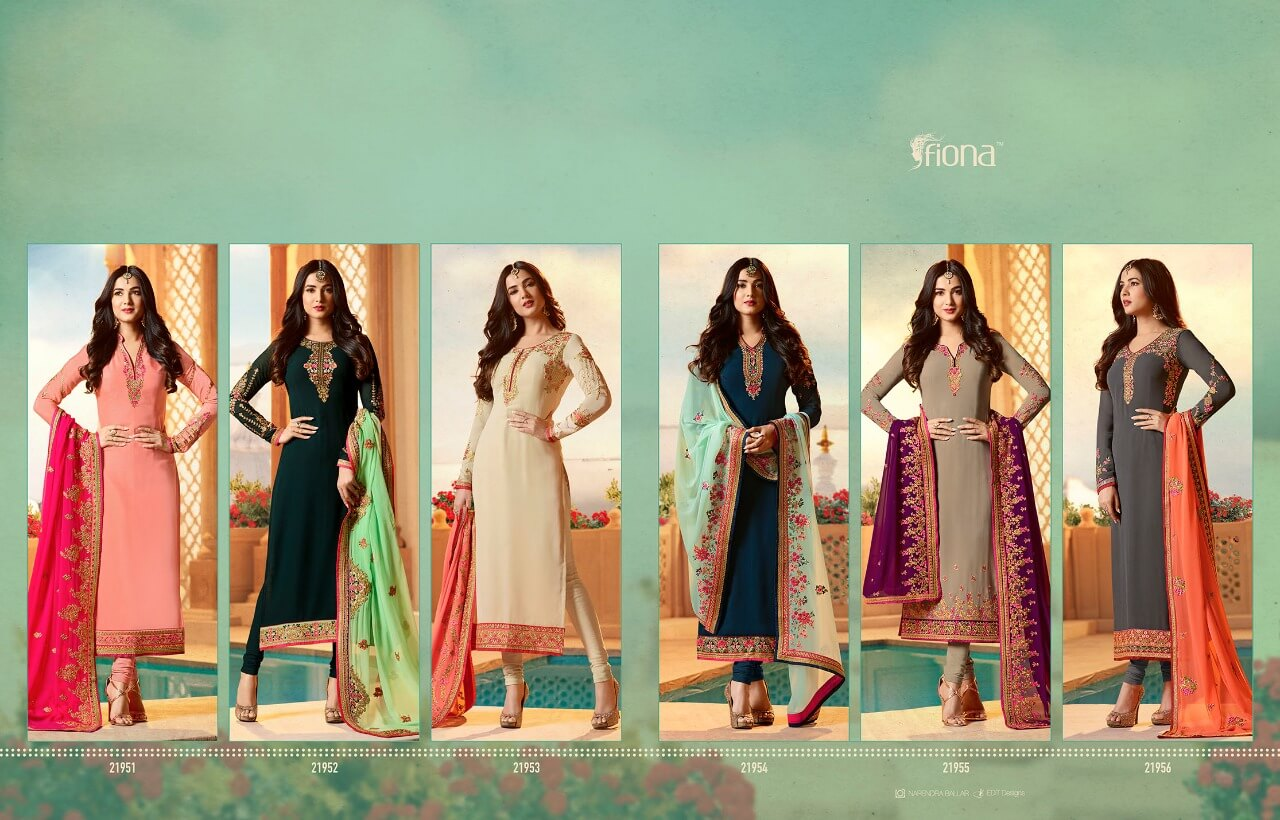 Fiona punjabi heavy dupatta suits