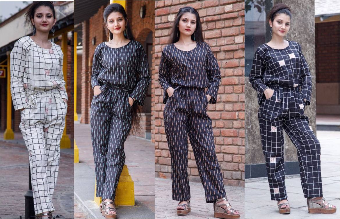 Jumpsuit for Women IKAT Vol 1 by Rutbaa Khan