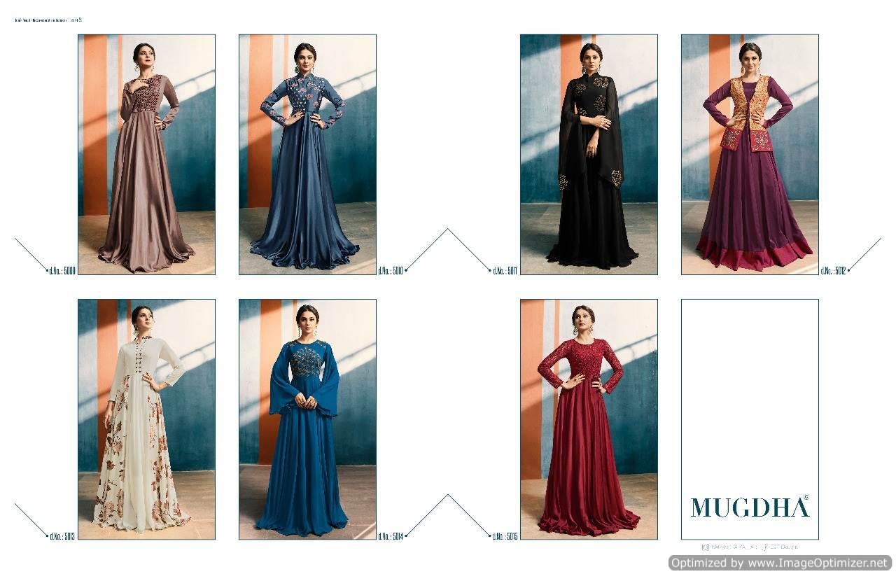 Shop Mugdha Elite Style Designer Gowns Online