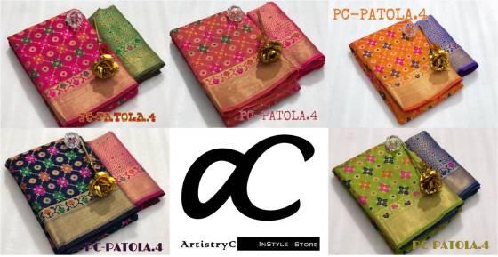 PC Patola Silk Sarees vol 4