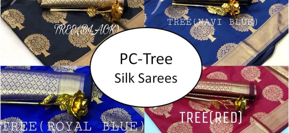 PC-Tree Silk Sarees