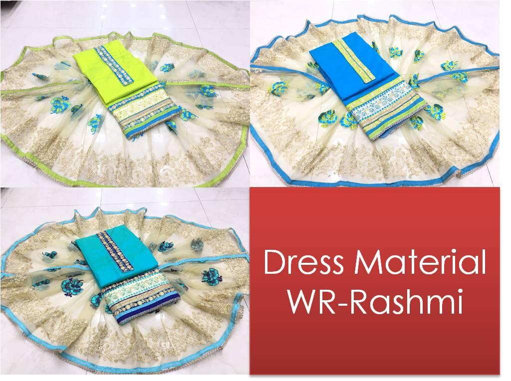 Chanderi Cotton Dress Material WR-Rashmi