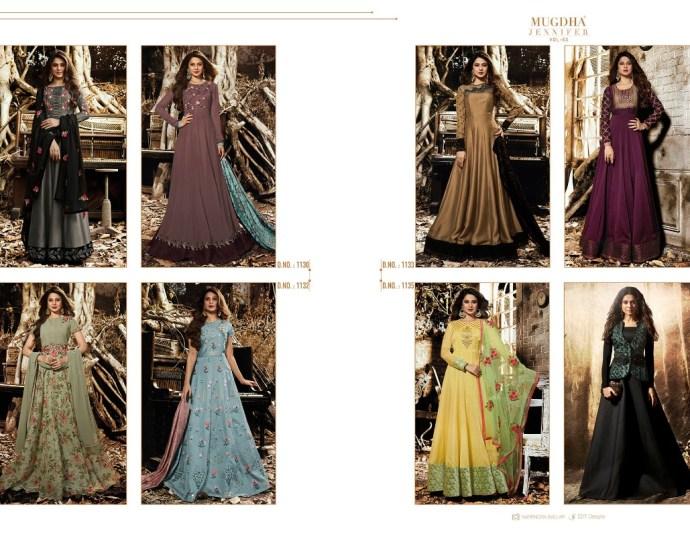Floor Length Gown Mugdha Jennifer Vol 3