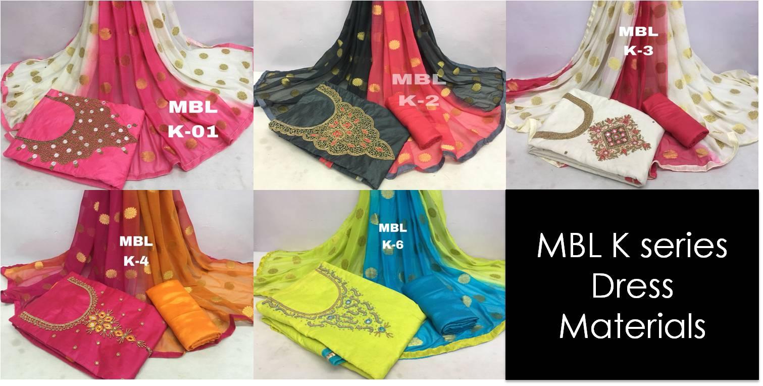 Shop MBL K series Dress Materials Online