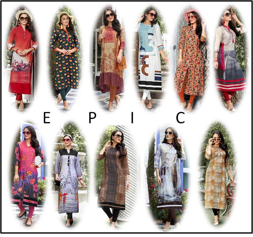 Shop Printed Kurtis Epic Online